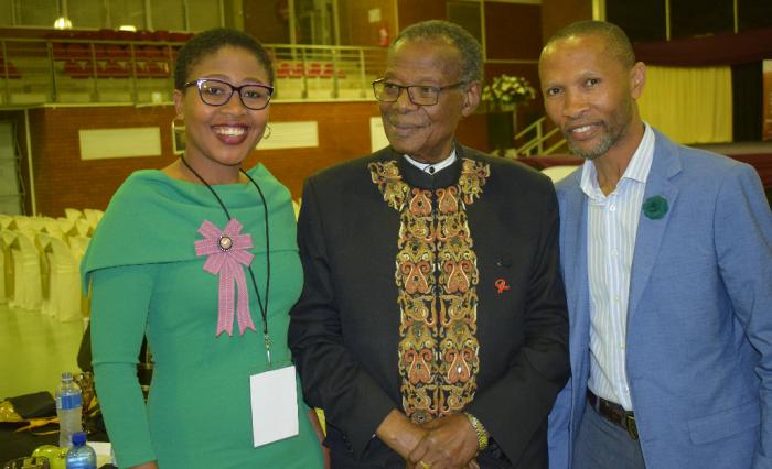 The Celes with MUT Founder, Prince Mangosuthu Buthelezi