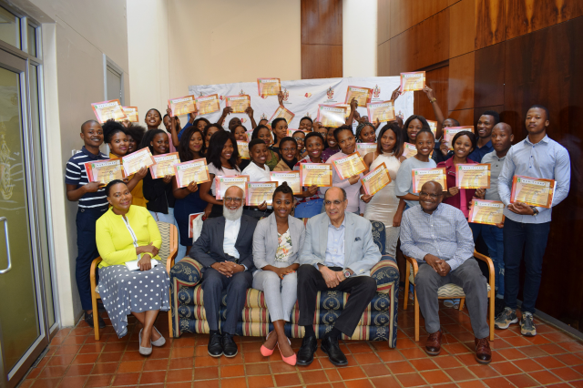 Students receive their Work Readiness Programme certificates