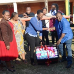 MUT donates sanitary products to its neighbour, in honour of Mandela