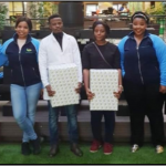 Community Extension students give budget lessons to SASA staff