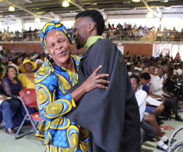 Sanele, graduates with a Diploma in Chemical Engineering